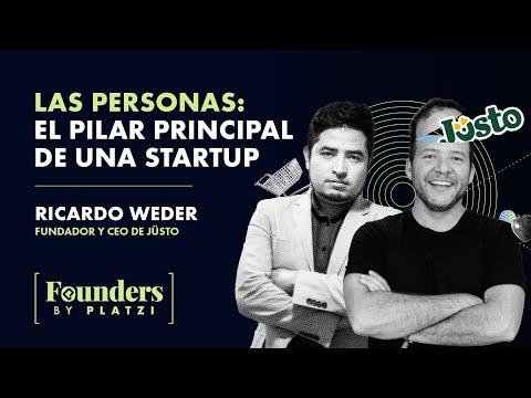 Las personas son el pilar fundamental de una empresa   Ricardo Weder, fundador de Jüsto