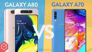 SAMSUNG GALAXY A80 vs. A70 - Qual melhor?   Comparativo!