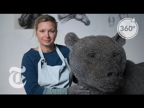 Animals in the Artist's Studio | The Daily 360 | The New York Times