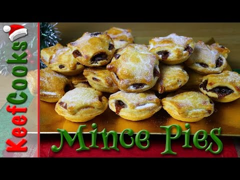 British Christmas Mince Pies and Mincemeat Recipe