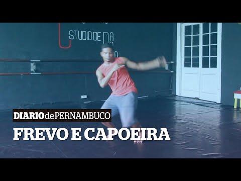 Dança contemporânea mistura frevo e capoeira