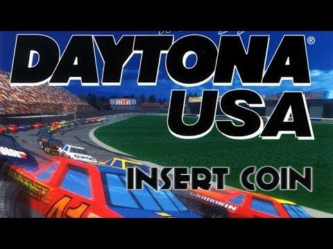 Daytona USA (1995) - SEGA Saturn - Beginner Course