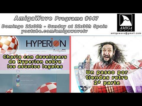 Programa #147 - Hyperion nos habla sobre sus reclamaciones legales, paseo por tiendas Retro II