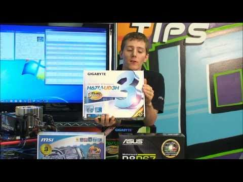 Intel Sandy Bridge Core i7 i5 P67 LGA1155 Overclocking Tutorial NCIX Tech Tips - UCjTCFFq605uuq4YN4VmhkBA