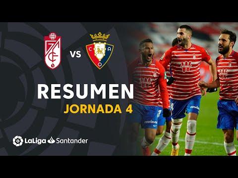 Resumen de Granada CF vs CA Osasuna (2-0)