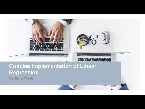 Concise Implementation of Linear Regression