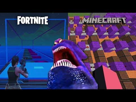 KRAKEN THEME (Minecraft Note Blocks VS Fortnite Music Blocks)