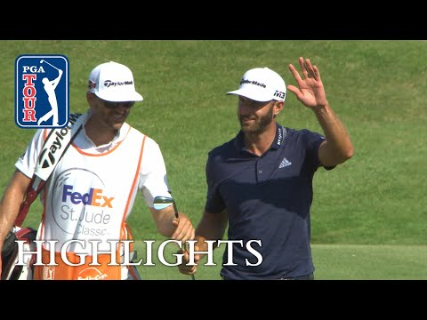 Dustin Johnson?s eagle finish at FedEx St. Jude