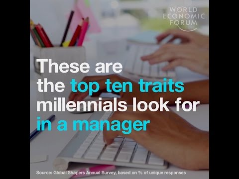 These are the top ten traits millennials look for in their managers