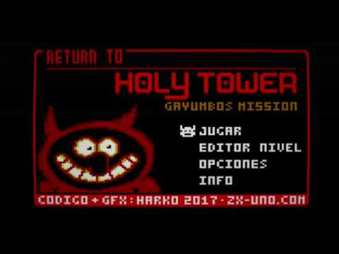 RETURN TO HOLY TOWER: GAYUMBOS MISSION ZX-Uno by HarkO