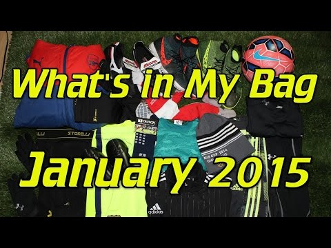 What's In My Soccer Bag - January 2015 - UCUU3lMXc6iDrQw4eZen8COQ