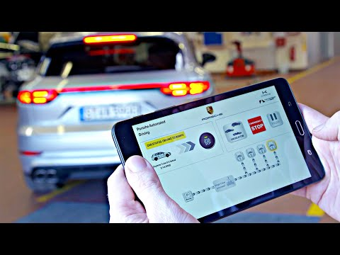 Porsche Cayenne (2020) Automated Parking