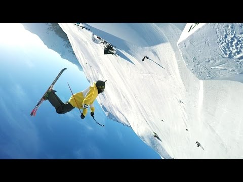 GoPro: Dual Double Backflips with Fabian Bösch and Christof Schenk