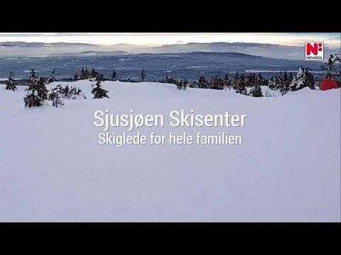 Sjusjøen Skisenter - skiglede for hele familien