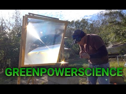 Mixing  Glass and Steel using Sunlight non-conductive