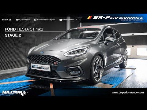 Ford Fiesta ST mk8 / Stage 2 By BR-Performance / MILLTEK exhaust