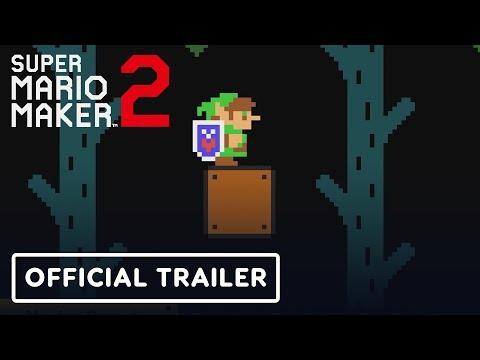 Super Mario Maker 2 - Master Sword Update Trailer - UCKy1dAqELo0zrOtPkf0eTMw