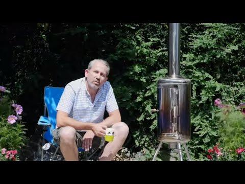 How to Make a Garden Heater