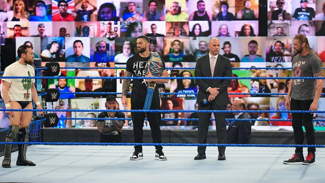 Roman Reigns vs. Edge vs. Daniel Bryan – Road to WrestleMania 37: WWE Playlist