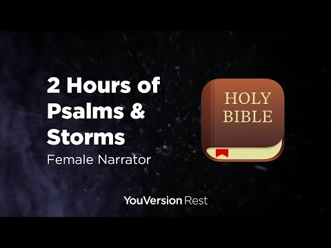 Bible Verses with Thunderstorms for Sleep and Meditation  (2 hours)