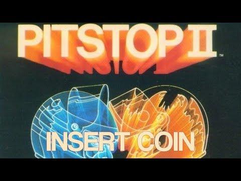 Pitstop II (1984) - Atari 8-Bit - Single Race