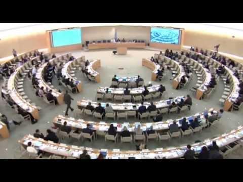 HRC33 - Item 4 General Debate - Laila Matar for HRW