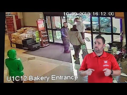 Store Employee Confronts Diaper Thieves