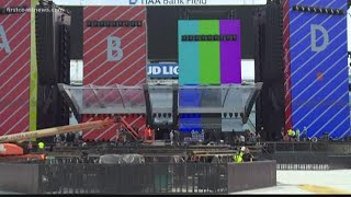 Final touches are being made as the Rolling Stones are set to play at TIAA Bank Friday night