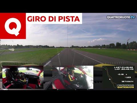 Giro di pista: la Porsche 911 GT2 RS al Vairanoring
