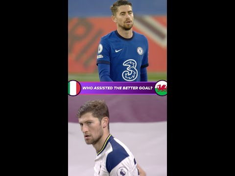 Who assisted the better goal? | Italy v Wales | Euro 2020
