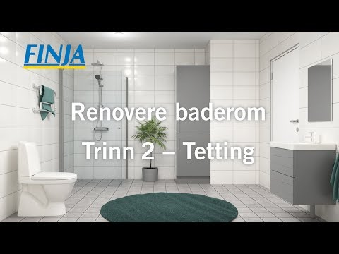 Renovere baderom - Trinn 2 - Tetting