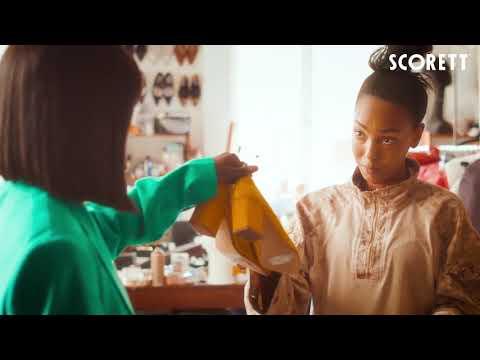 Sabina Ddumba för Scorett - Min story blir deras