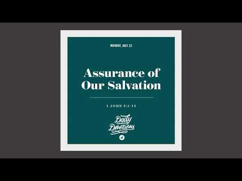 Assurance of Our Salvation - Daily Devotion