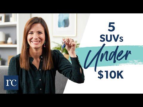 5 SUVs Under $10k