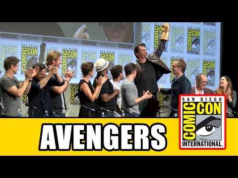 Marvel Avengers: Age of Ultron SDCC Official Comic Con Panel 2014 - UCS5C4dC1Vc3EzgeDO-Wu3Mg