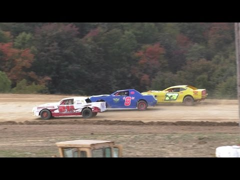 Pure Stock Feature | Thunder Mountain Speedway | 10-9-16 - dirt track racing video image