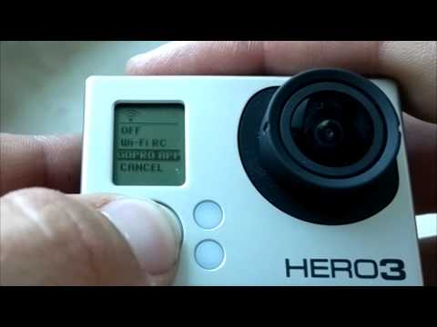 HowTo connect GoPro Hero 3 with Android using Wifi/WLAN