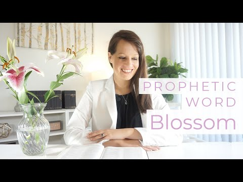 Blossom Spring Prophetic Word