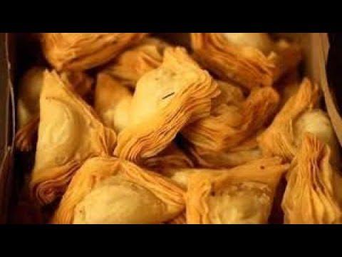 EASY WAY OF PREPARING KEEMA WARQI SAMOSA    MINCED MEAT STUFFED LAYERED PUFF    #CANDIDBERRY