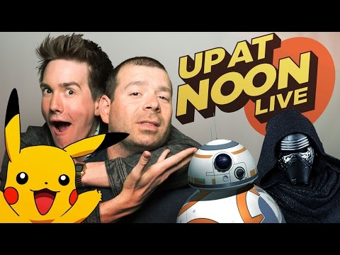 Pokémon Go, Metal Gear Moments & The Force Awakens Toys - Up At Noon - UCKy1dAqELo0zrOtPkf0eTMw