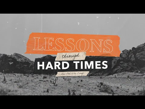 English Service  Lessons Through Hard Times