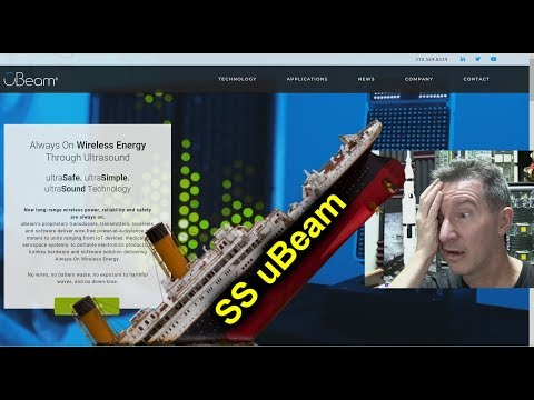 EEVblog #1224 - uBeam is Sinking! - UC2DjFE7Xf11URZqWBigcVOQ