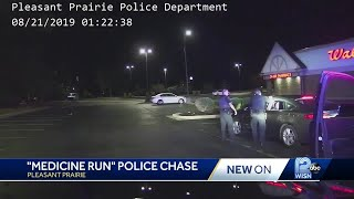 Tense traffic stop leads to police chase, suspect getting stunned