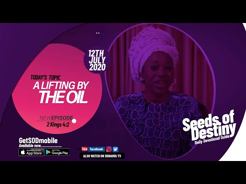 Dr Becky Paul-Enenche - SEEDS OF DESTINY - SUNDAY JULY 12, 2020
