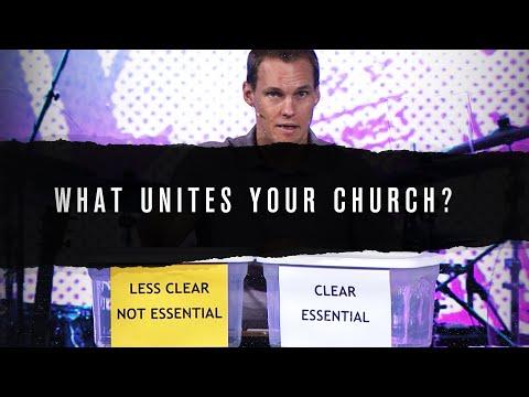 What Unites Your Church? // David Platt