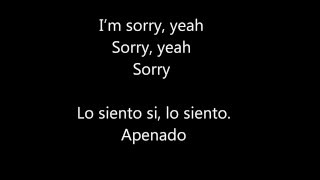 Sorry ft. J Balvin (Lyric + Español)