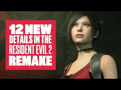 12 Cool New Things in Resident Evil 2 Remake - Resident Evil 2 Leon Claire Ada Gameplay - UCciKycgzURdymx-GRSY2_dA