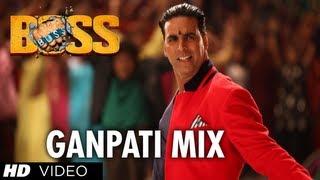 Watch Boss Ganpati Mix Full Song Boss Akshay Kumar Meet Bros