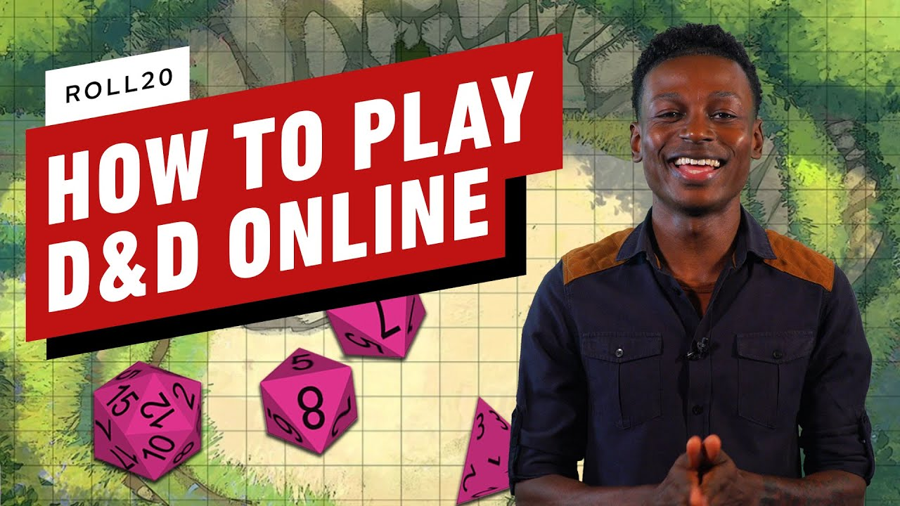 How to Play D&D Online With Roll20