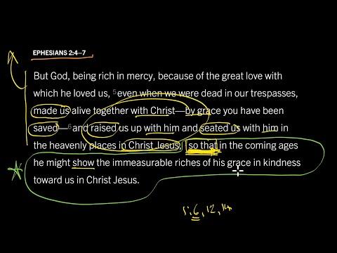 Ephesians 2:47 // Part 10 // What Is Gods Ultimate Goal Toward Us?